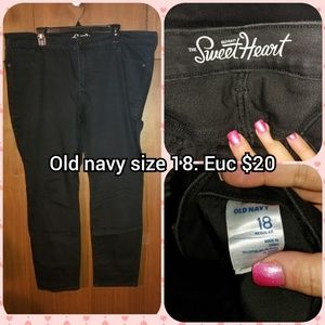 Old navy sweetheart size 18